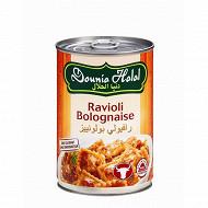 Dounia halal ravioli bolognaise 1/2 400 g