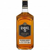 Label 5 bourbon barrel 70cl 40%vol
