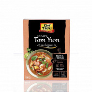 Real thai soupe tom yum prête à l'emploi 300g