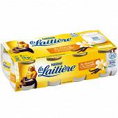 La Laitière yaourt pot verre vanille 8x125g