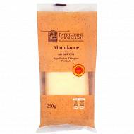Patrimoine gourmand abondance AOP au lait cru 250 g