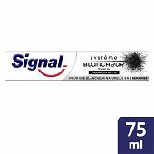 Signal dentifrice système blancheur charbon 75ml