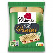 La Boulangère 4 pains panini 300g