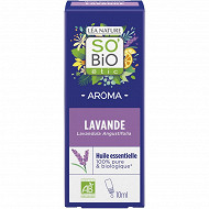 Huile essentiel lavande biologique 10ml So Bio