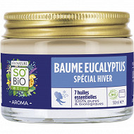 So Bio baume respiratoire huile essentielle eucalyptus 50ml