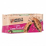 Michel et Augustin super cookies coeur fondant lait noisette 180g