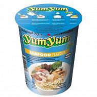 Yum Yum soupe nouilles bol fruit de mer 70g