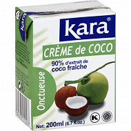 Kara crème de noix de coco 200ml