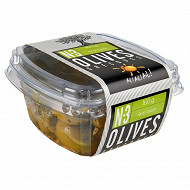 Ail ail ail n° 3 olives vertes dénoyautées marinées ail et basilic 160g