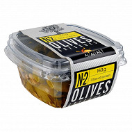 Ail ail ail n°2 olives vertes dénoyautées citron et romarin 160g