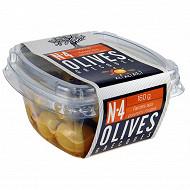 Ail ail ail n°4 olives vertes farcies aux poivrons rouges 160g