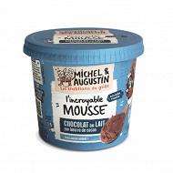 Michel et Augustin mousse au chocolat au lait 245g