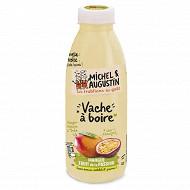 Michel et Augustin yaourt à boire sucré aux mangues et aux fruits de la passion 500 ml