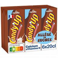 Candy'Up chocolaté allégé en sucre 6x20cl