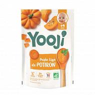 Yooji purée bio potiron 4 mois et plus 480g (24 galets de 20g)