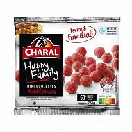 Charal 50 mini boulettes 750 g