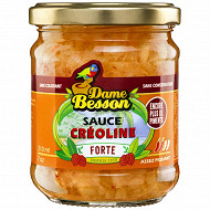 Sauce creoline forte 210 ml dame besson