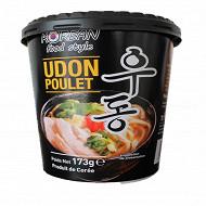 Korean food style nouilles udon cup poulet 173g