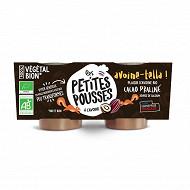 Les Petites Pousses plaisir d'avoine cacao noisette 2x90g
