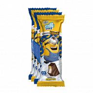 Milino milk snack chocolat banane minions 4x30g