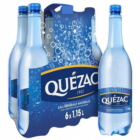 Quezac eau minerale gazeuse 6 x 1.15l