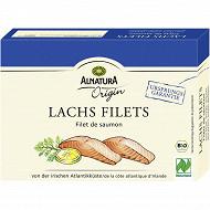 Alnatura origin filets de saumon bio 160G