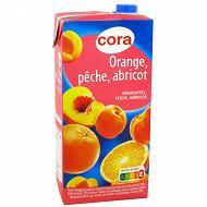 Cora nectar orange pêche abricot 2l