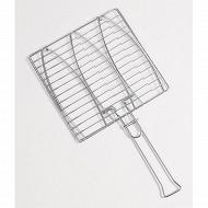 Verciel grille à poisson double 28x28cm