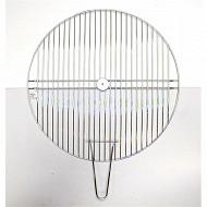 Verciel grille simple ronde diam 51cm acier chromé réf 450530 PR