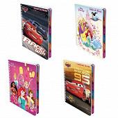 Disney cahier textes reliure intégrale 17x22 cm 148 pages 70 grammes