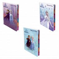 Reine des neiges cahier de textes reliure intégrale 17x22 cm 148 pages 80 g