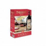 Cellier Yvecourt bordeaux rouge 3L 12.5%vol