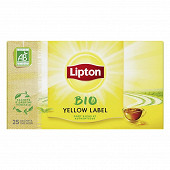 Lipton yellow label bio 25 sachets 50g