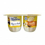 La Laitière riz au lait vanille 4x115g