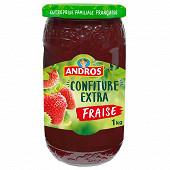 Andros confiture extra à la fraise 1kg