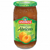 Andros confiture d'abricot 1kg