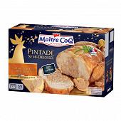 Maître Coq pintade farce au foie gras de canard 1.2kg