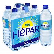 Hépar eau minérale naturelle 6x1L