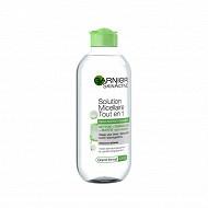 Garnier skin naturals toilette du visage eau micellaire peau mixte 400ml