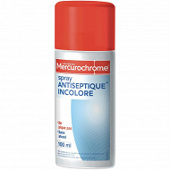 Mercurochrome spray antiseptique incolore, 100ml
