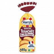 Harrys brioche tranchée recette classique nature sans additifs 485g