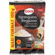 Cora parmigiano reggiano aop rapé 18mois 100g