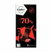 Galler chocolat noir intense 70% 80g