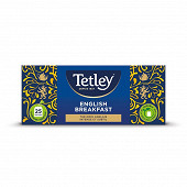 Tetley thé English breakfast x25 50g