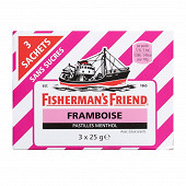 Fisherman's friends framboise sans sucres x3 75g