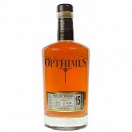 Rhum Opthimus 15 ans 38% Vol. 70cl