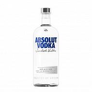 Absolut vodka 1L 40%vol