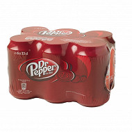 Dr Pepper pack 6x33cl