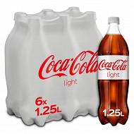 Coca-Cola light pet 6x1.25l