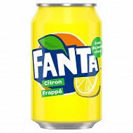 Fanta citron frappé boite 33cl